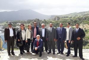 Visita delegazione araba Scopello