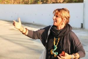 1_L'artista Antonietta Filangeri ideatrice di Marevigliosamente Tusa