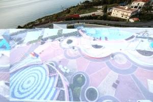 3_Panorama di Castel di Tusa dove sarà posizionato il murales Marevigliosamente Tusa