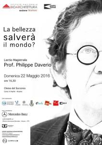 Lectio Magistralis Philippe Daverio
