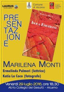 Marilena Monti locandina 1