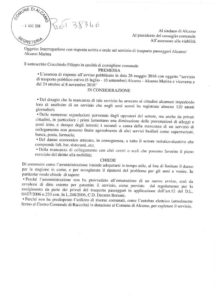 Interrogazione trasporto pubblico Alcamo-Alcamo Marina