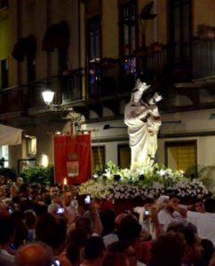 madonna TP processione