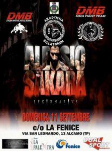 Locandina stage Alessio Sakara @ Shot 365 Combat Academy
