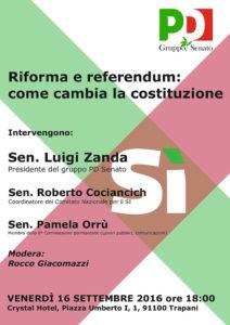 locandina incontro riforma referendum