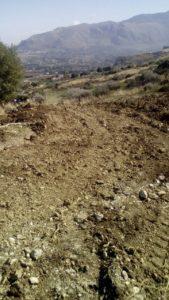 danneggiato sentiero torre bennistra 1