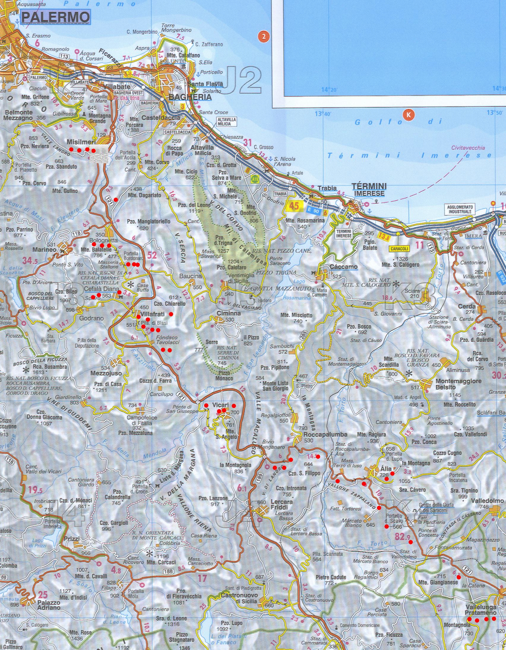 Cartina Geografica Stradale Della Sicilia.La Favola Delle Regie Trazzere Di Sicilia Capitolo Vii