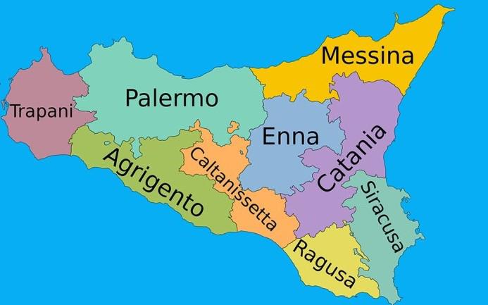 Cartina Sicilia Province.Via Libera A Risorse Per Le Ex Province Siciliane Ma Alqamah