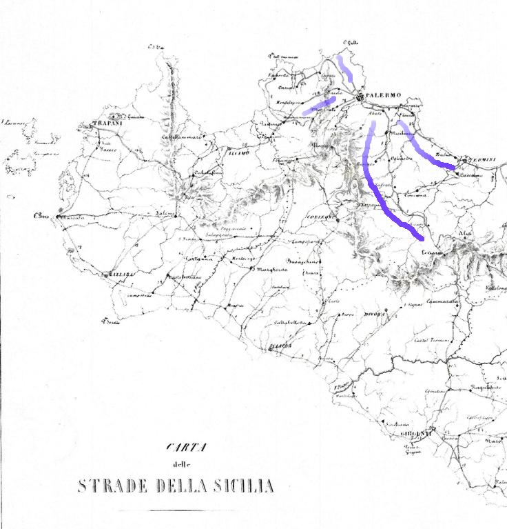 Sicilia Occidentale Cartina Stradale.La Favola Delle Regie Trazzere Capitolo X Parte Iv Alqamah